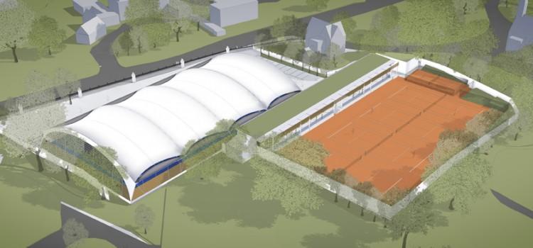 proposed new Chandos tennis club